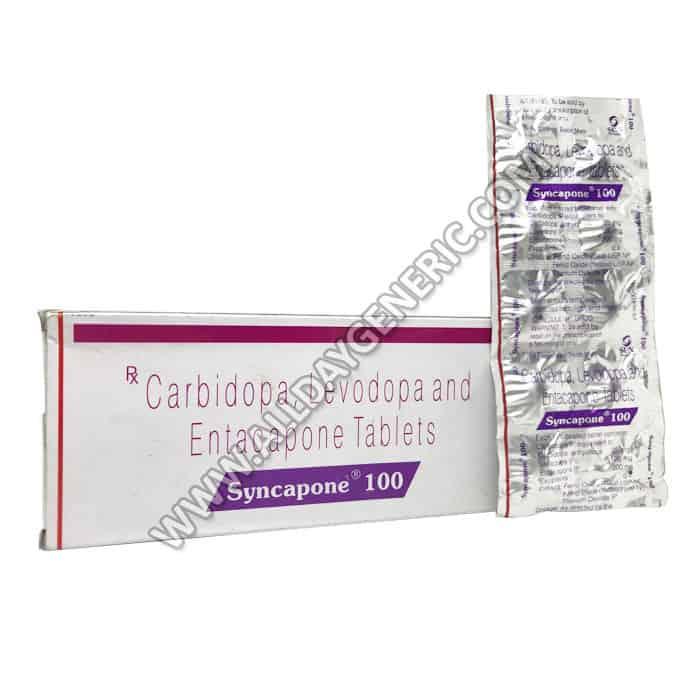 Syncapone 100, Carbidopa / Levodopa / Entacapone