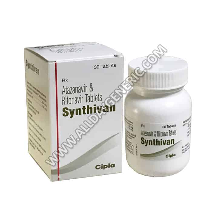 Atazanavir Ritonavir (Synthivan Tablets)