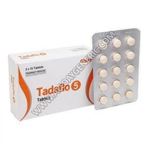 Tadaflo 5 (Tadalafil 5 mg Tablet)