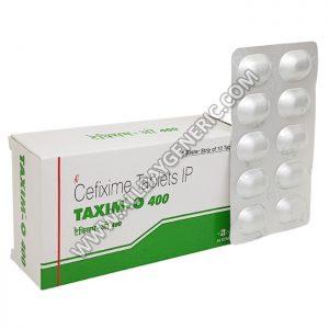 Taxim O | Taxim O 400 mg (Cefixime)