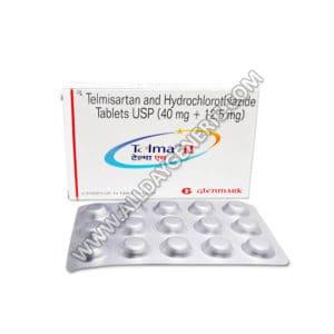 Telma H (Telmisartan + Hydrochlorothiazide)