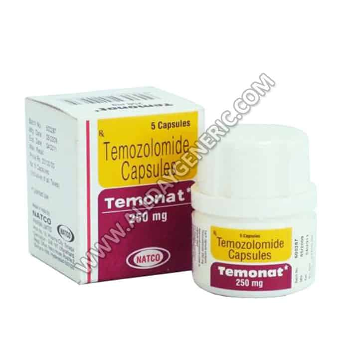 Temonat 250 mg (Temozolomide)