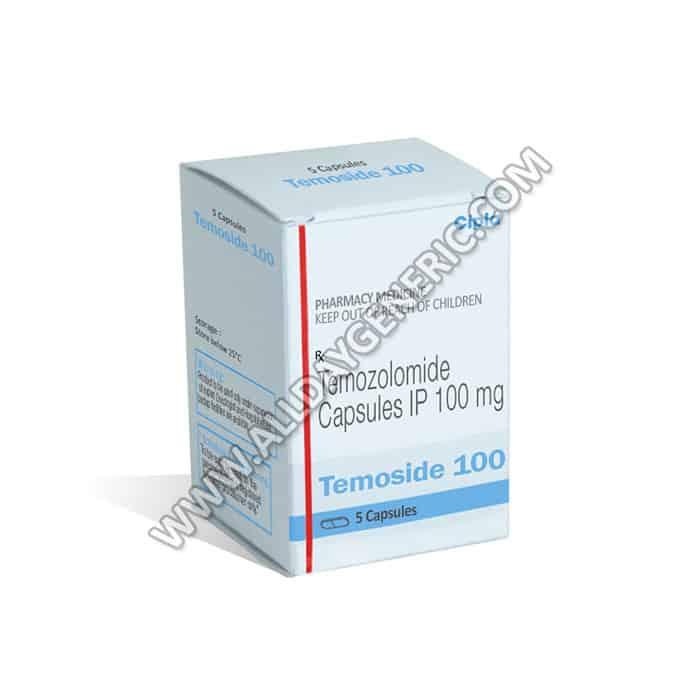 Temoside 100 mg (temozolomide)