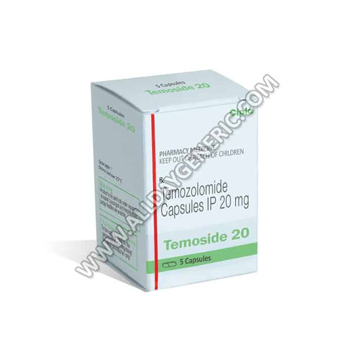 Temoside 20 mg (temozolomide)