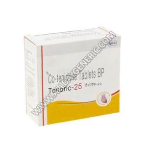 Tenoric Tablet, Atenolol Chlorthalidone 25 mg