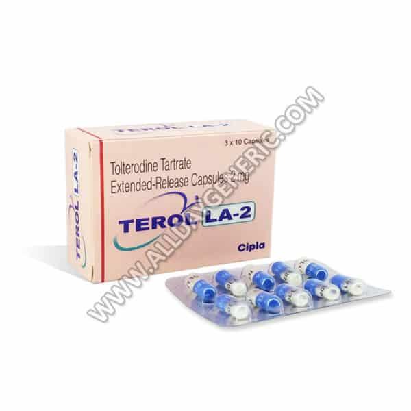 Terol LA 2 mg Capsule