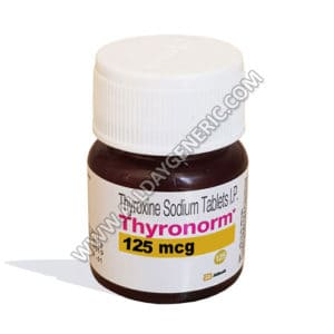 levothyroxine sodium, levothyroxine 125 mcg