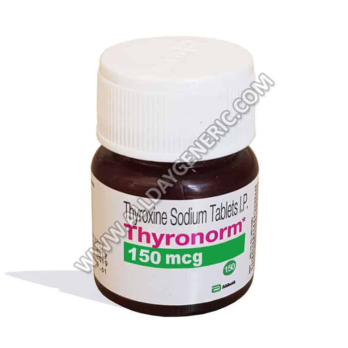 thyroxine medication, levothyroxine 150 mcg, Thyronorm 150 mcg Tablet