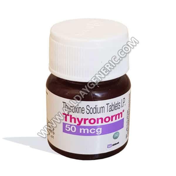 Thyronorm 50 Mcg Thyroxine Sodium Tablets Levothyroxine In Usa