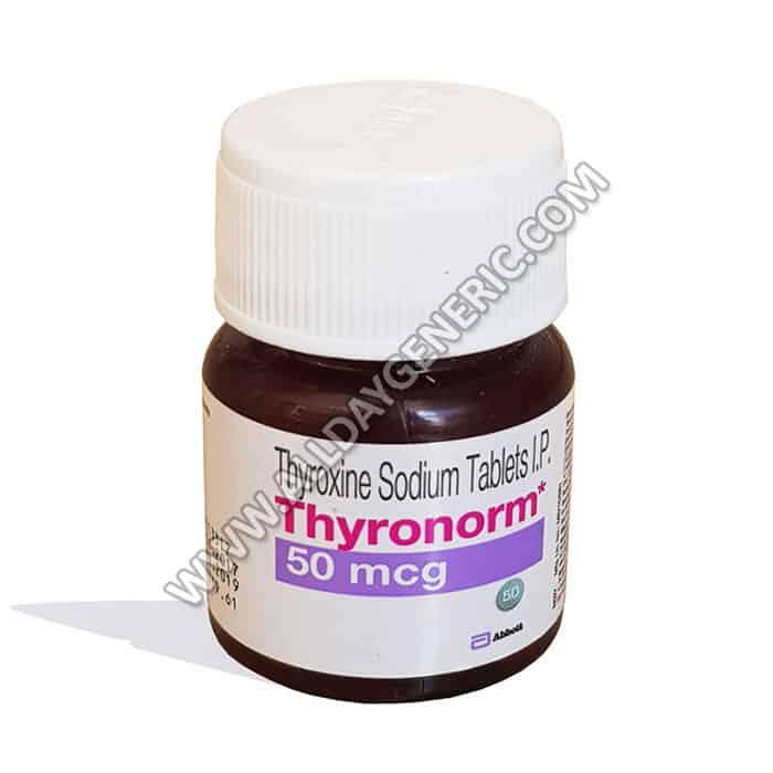 Thyronorm 50 mcg (Thyroxine Sodium)