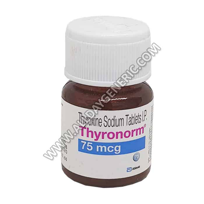 Thyronorm 75 Mcg Levothyroxine 75 Mcg Reviews Dosage In Usa