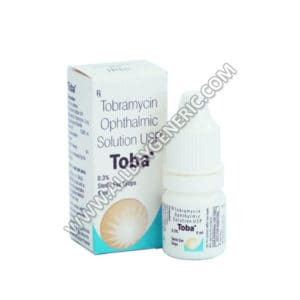 Toba Eye Drop (Tobramycin eye drops)