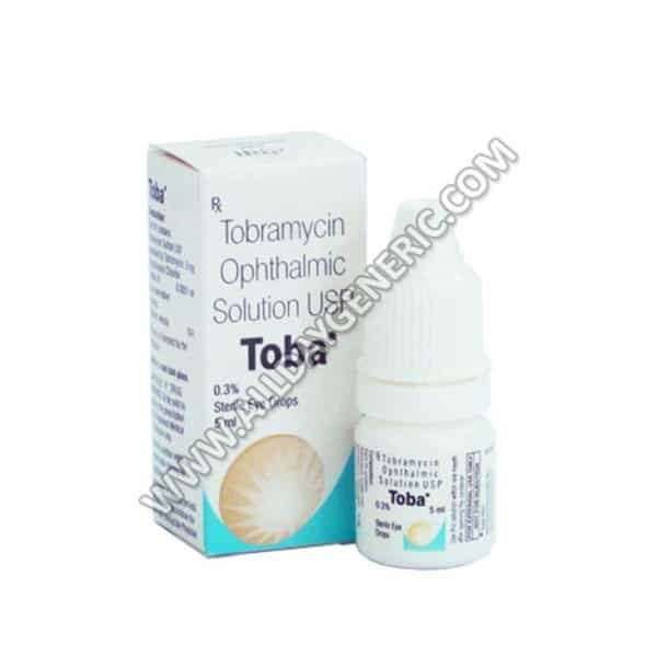 Toba Eye Drop 0.3% – 5 ml