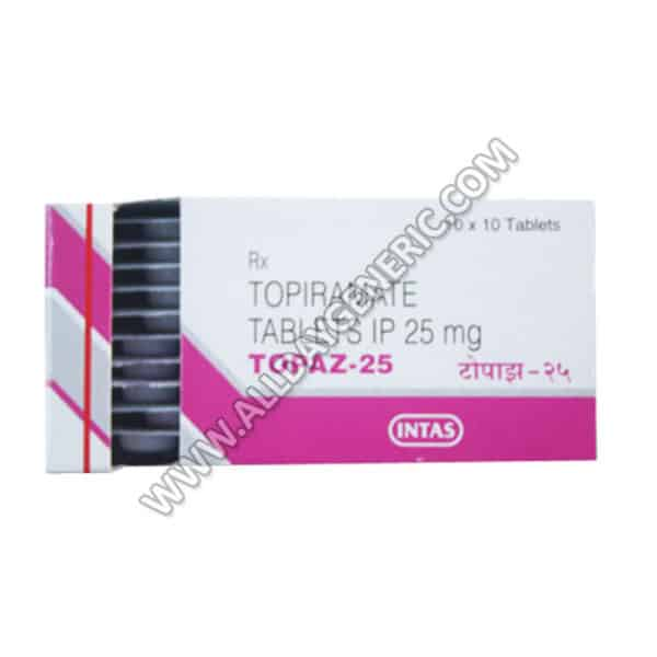 Topaz 25 mg