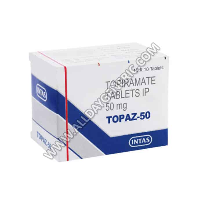 topiramate (topiramate 50 mg)topaz 50
