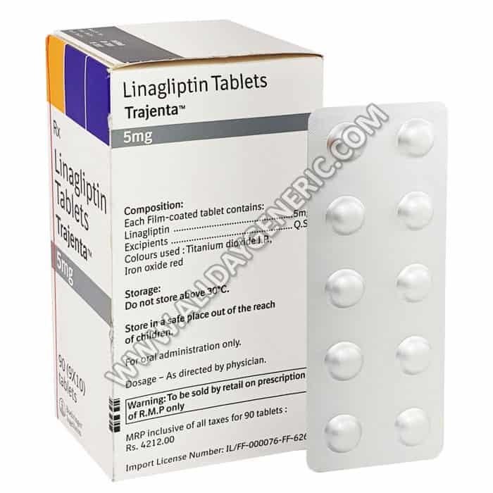 Trajenta 5 mg, Linagliptin
