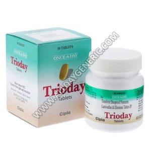 Trioday (Lamivudine / Tenofovir / Efavirenz)