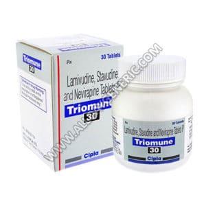 nevirapine 200mg, Triomune 30 Tablet, Stavudine