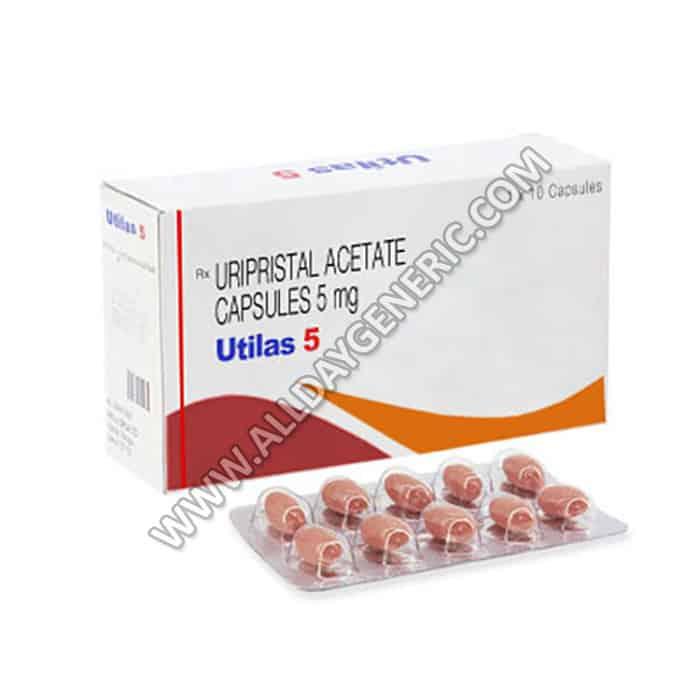 Ulitas 5 mg Capsule (Ulipristal Acetate)