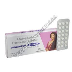 Unwanted 21 Days (Ethinyl Estradiol / Levonorgestrel)