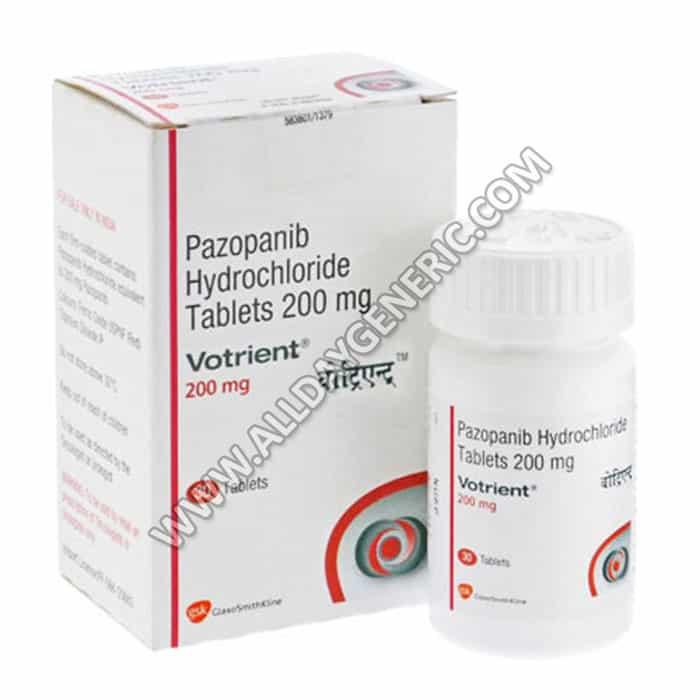 votrient, pazopanib, votrient side effects