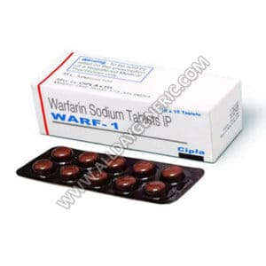 Warfarin 1 mg (Warf 1 mg) Tablets