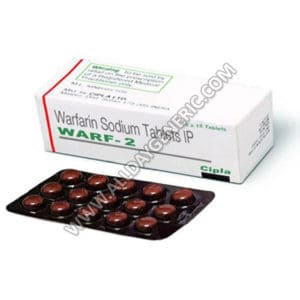Warfarin 2 mg (Warf 2 mg) Tablet