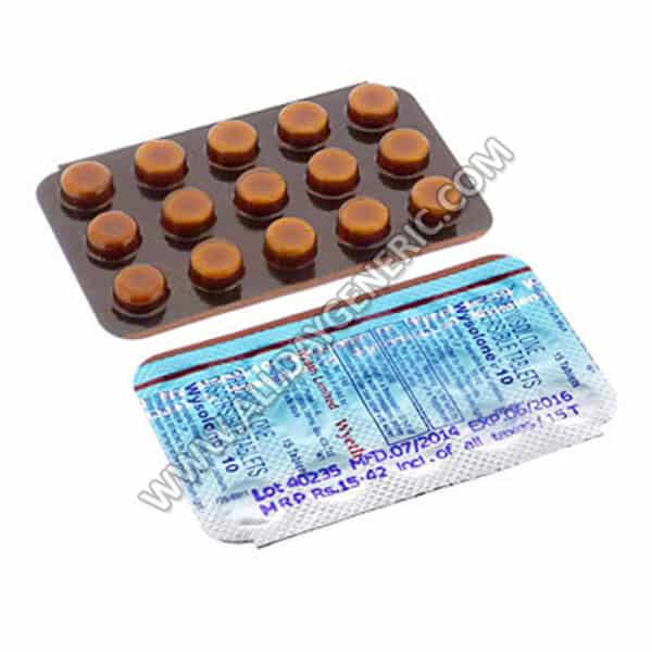 Wysolone 10 mg Tablet