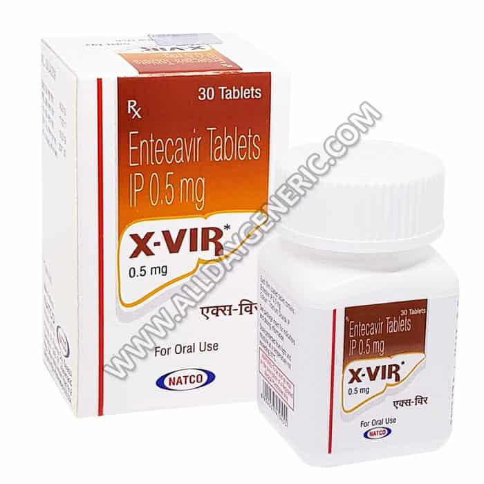 Entecavir (X Vir 0.5 mg)