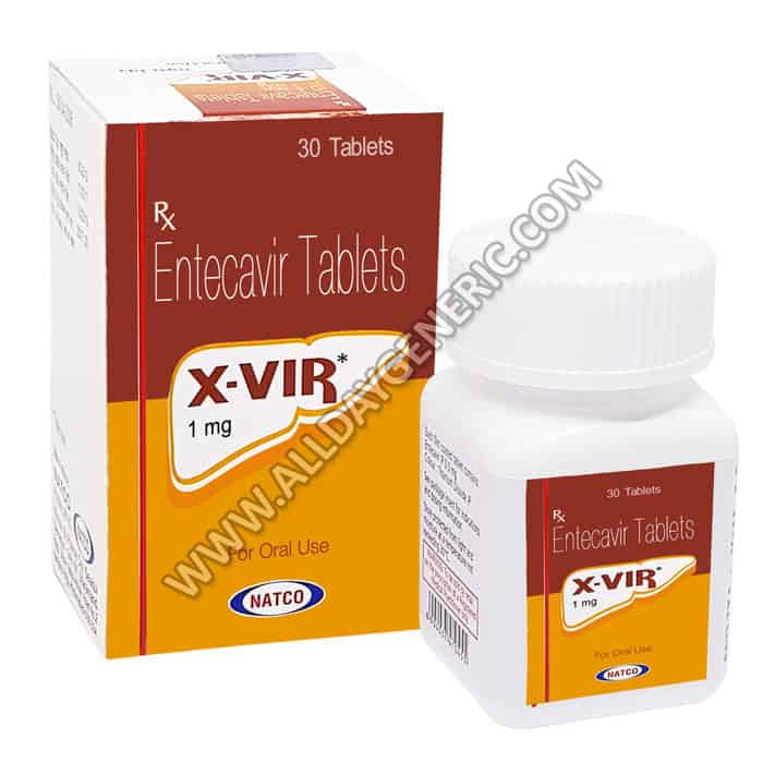 X Vir 1mg (what is entecavir used for)