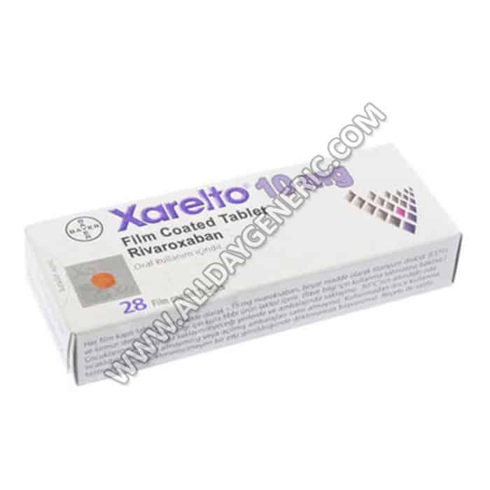 Xarelto Rivaroxaban (Xarelto 10 mg)