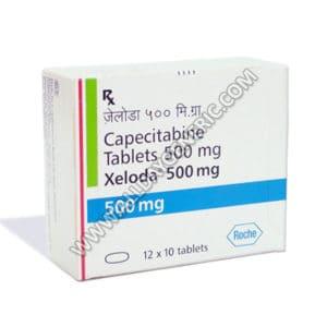 Xeloda 500 mg (Capecitabine)