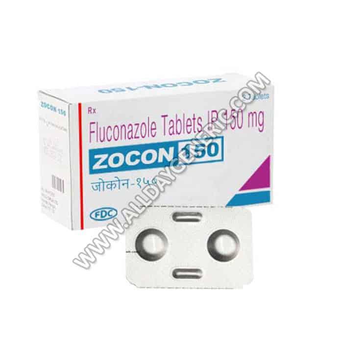 Zocon 150 mg (Fluconazole tablets)