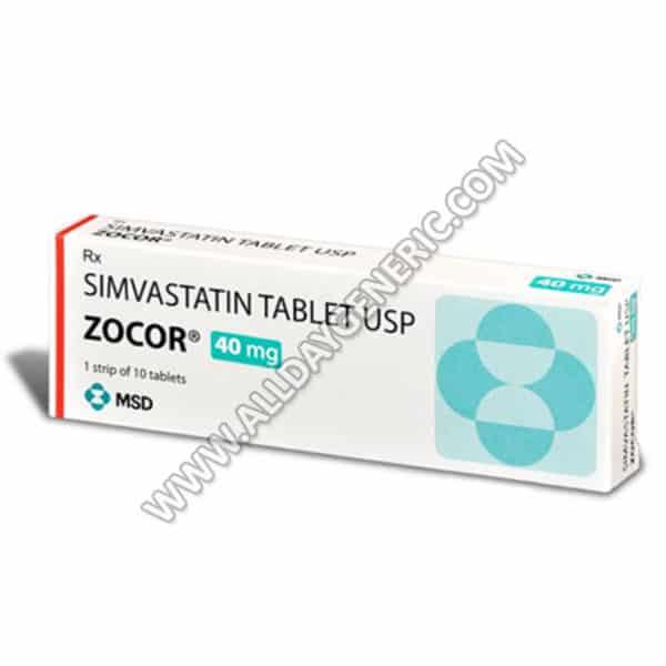 Zocor 40 mg
