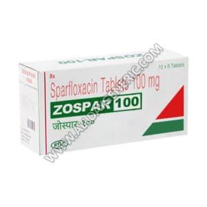 Zospar 100 (sparfloxacin)