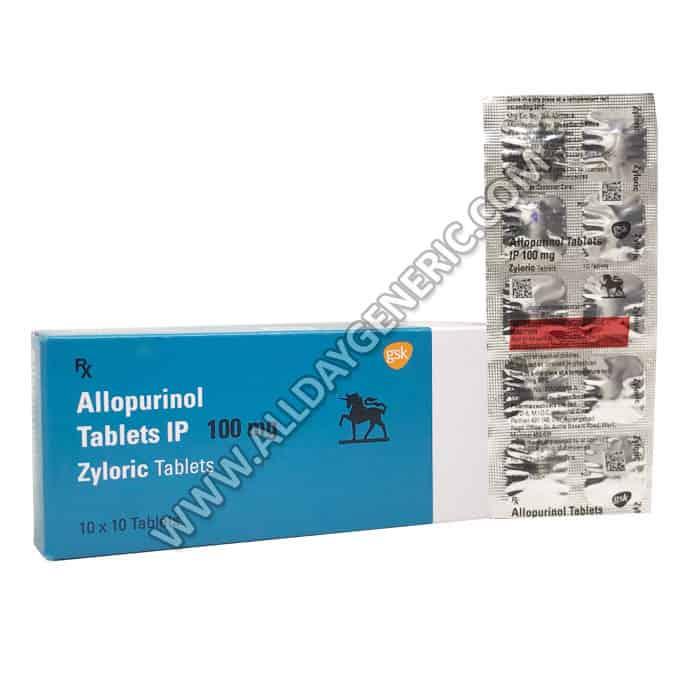 Zyloric 100 mg