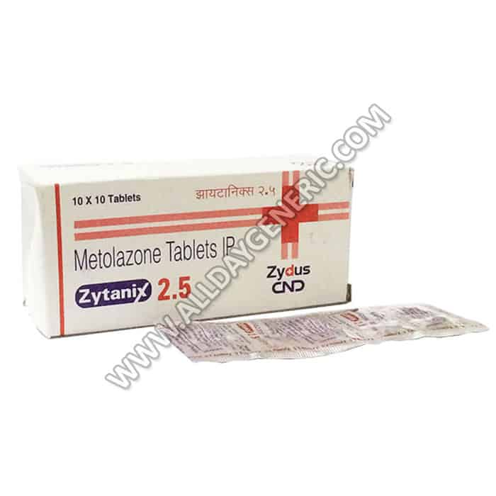 Metolazone 2.5 mg