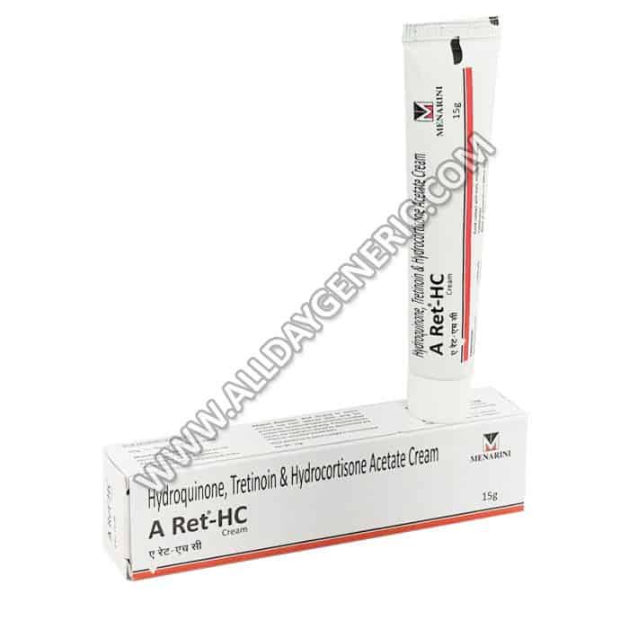 A Ret HC Cream (Hydroquinone / Tretinoin / Hydrocortisone)