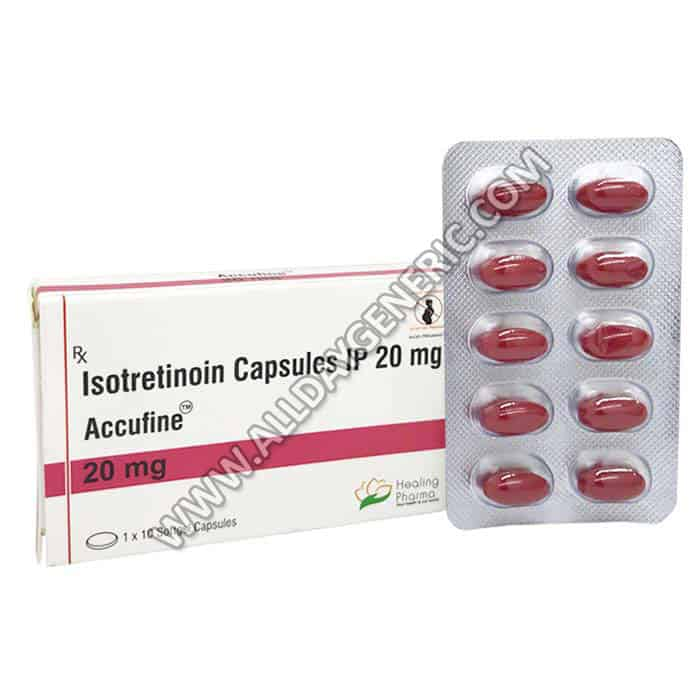 Isotretinoin 20mg (Isotretinoin pill)