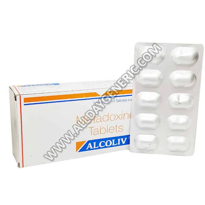 Alcoliv 500mg, Metadoxine 500mg Tablets