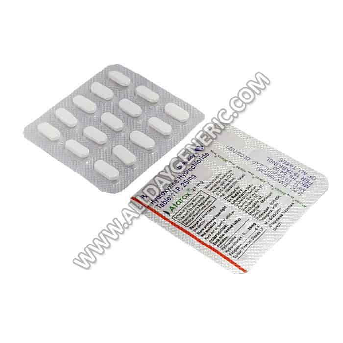 Atarax 25 mg (Hydroxyzine 25mg)
