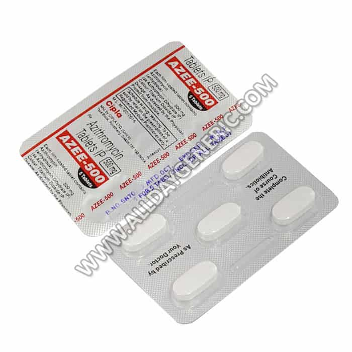 Azee 500 mg Tablet (Azithromycin)