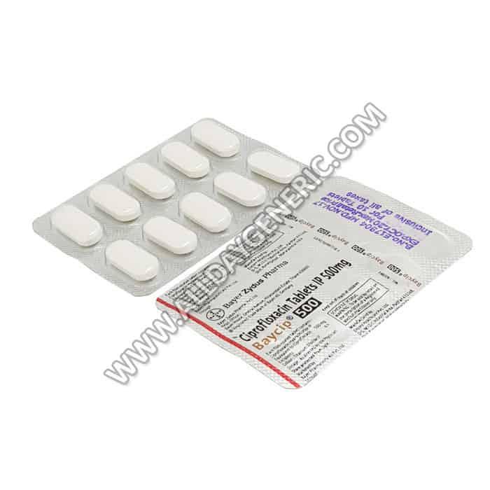 Baycip 500 (Ciprofloxacin)