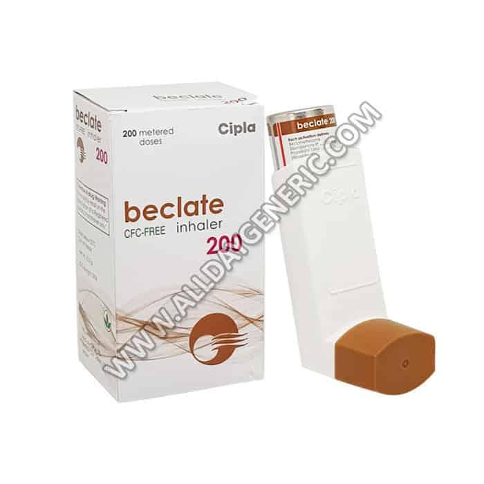 Beclometasone inhaler | Beclate inhaler (Beclometasone)