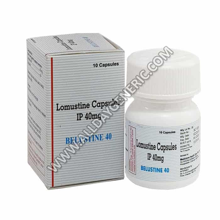 Belustine 40 mg Capsules (Lomustine)