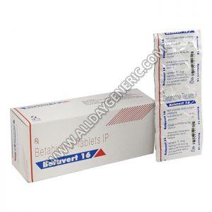 Betavert 16 mg (Betahistine)