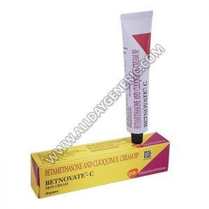 betnovate cream (betamethasone cream) (Clioquinol)