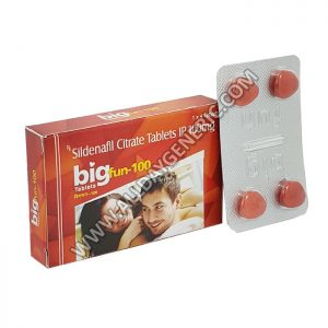 bigfun 100 mg (Sildenafil Citrate 100)