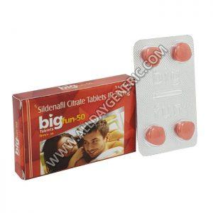bigfun 50 mg (Sildenafil 50mg)