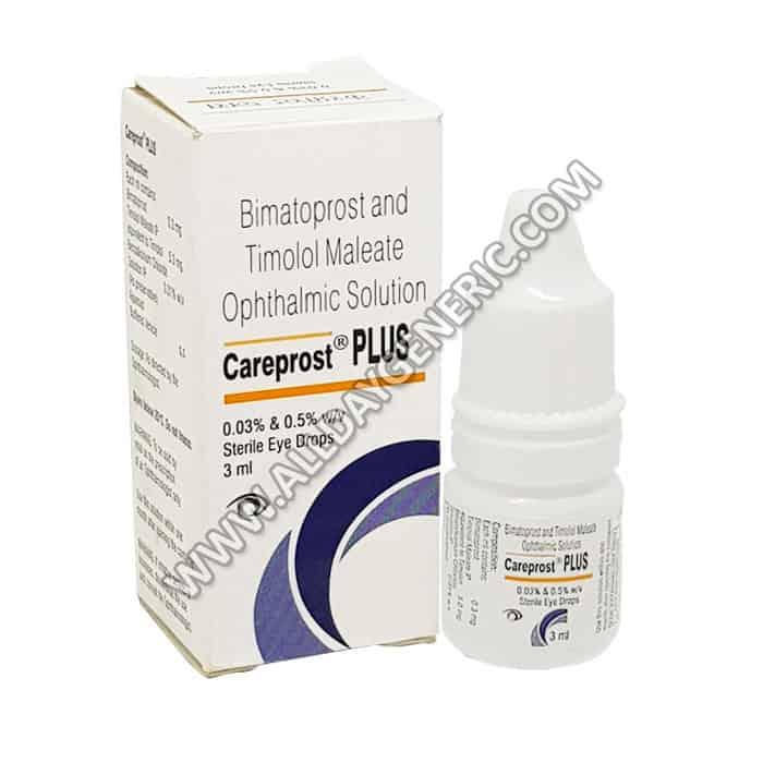 Timolol eye drops (Careprost plus eye drops)